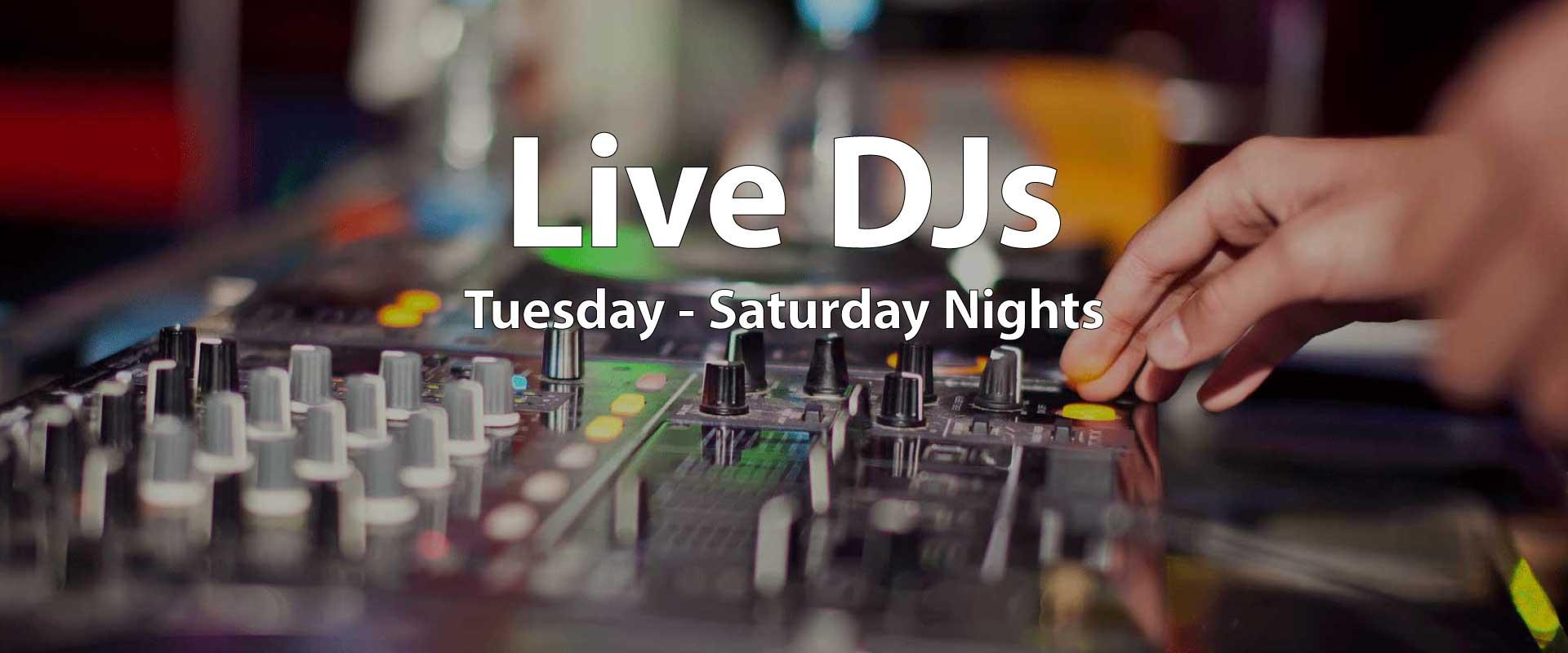 The Balcony Club - Slider - Live-DJs